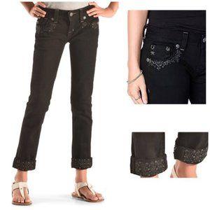 NWT Miss Me black skinny jeans size 27